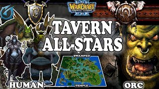 Grubby   Warcraft 3 TFT   1.30   HU v ORC on Swamped Temple - Tavern All-Stars