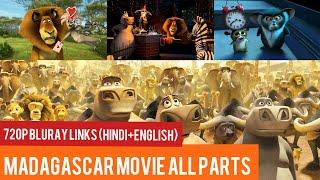 Madagascar All Movies (Hindi+English) Download