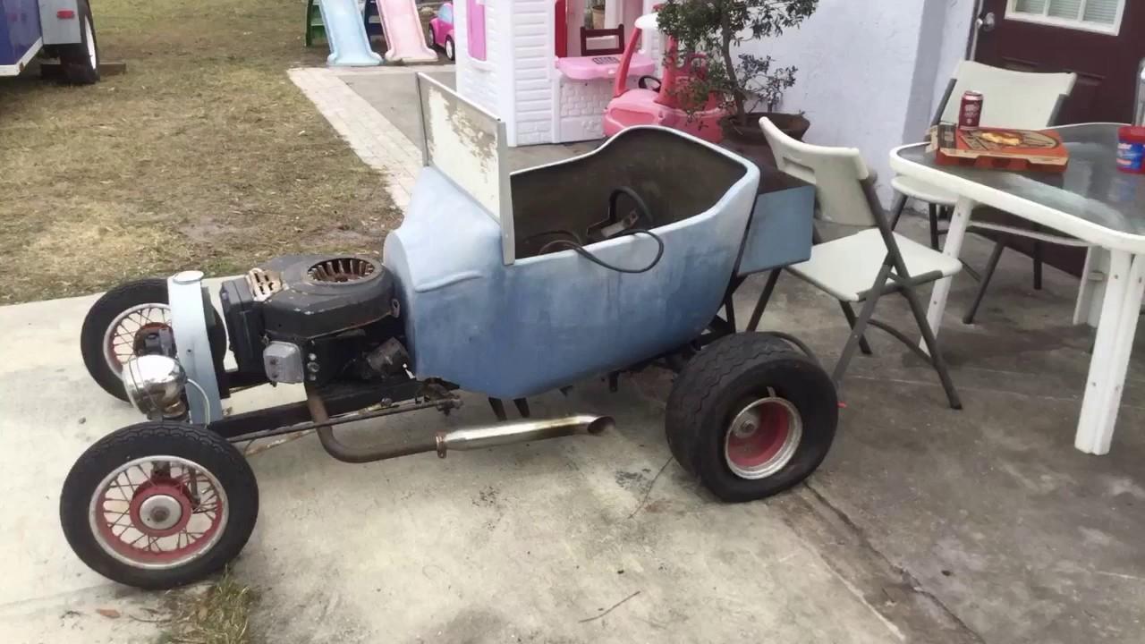 T Bucket Go Kart, Rebuild.