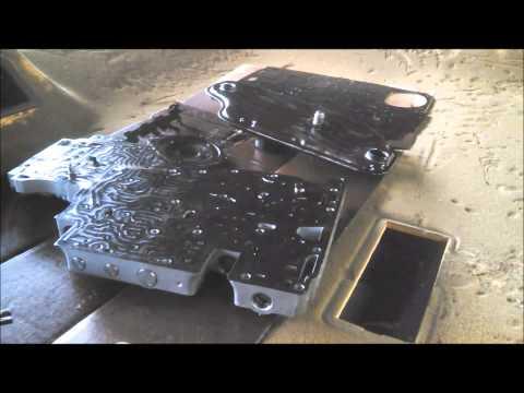 4R44E/4R55E VALVE BODY PLATE - YouTube