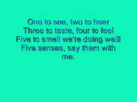 Hi-5 Five Senses Lyrics.wmv