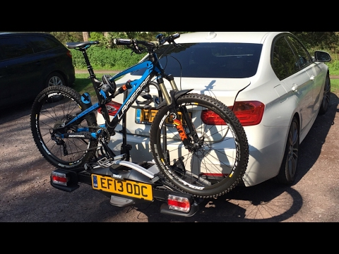Bike Carrier Towbar Thule Velocompact 924 925 Review And Unboxing On Bmw F30 320i