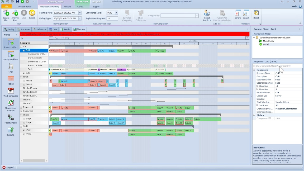 enhancement to resource plan gantt youtube
