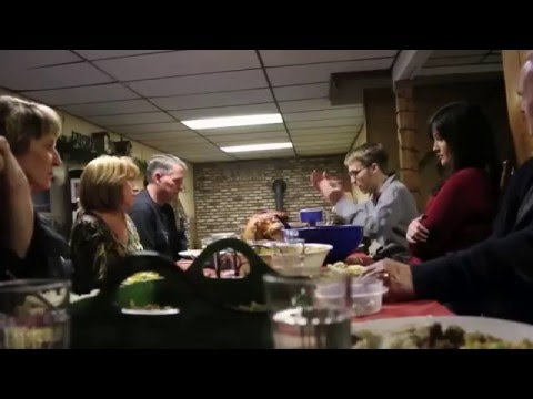 Family thanks giving freak out