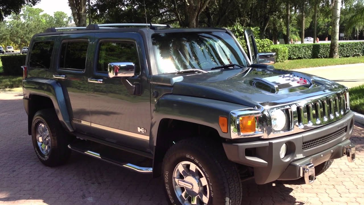 2006 Hummer H3 View our current inventory at FortMyersWA