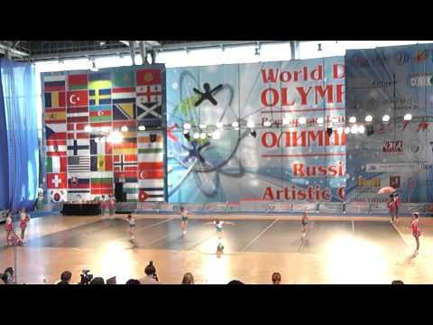 Show Dance, кубок мира. Дети, формейшены, 12 финала