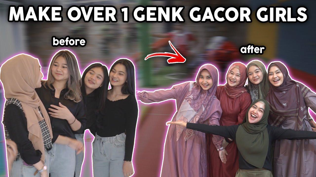 RATU & GENK GACOR GIRLS BERUBAH SEMUA DI RUMAH RICIS.. PANGLING BANGET..