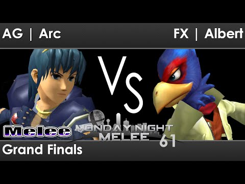 MNM 61 Melee - AG   Arc (Marth) vs FX   Albert (Falco) - Grand Finals