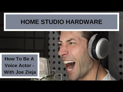 BASIC HOME RECORDING STUDIO HARDWARE FOR VOICE ACTING   How To Be A Voice Actor