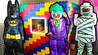 GIANT Lego Toys Come To LIFE!! Batman Saves The Day
