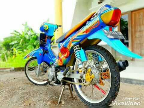 Shogun 110r modifikasi