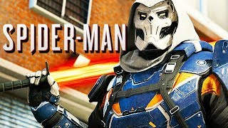 Spiderman Gameplay German PS4 PRO - Taskmaster Boss Fight