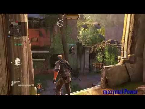 """Uncharted 4 (PS4) - A Cool Glitch in Sunken Ruins - With """" maxymal-Power """" and """" EPICy1234 """"."""
