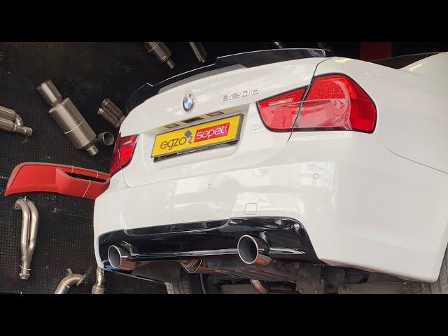BMW E90 BODYKİT VE EGZOZ SİSTEMLERİ
