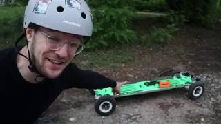 5000W Deskorolka Elektryczna - Najmocniejsza jaką jechałem! EV4 Mountain Board Boardzilla