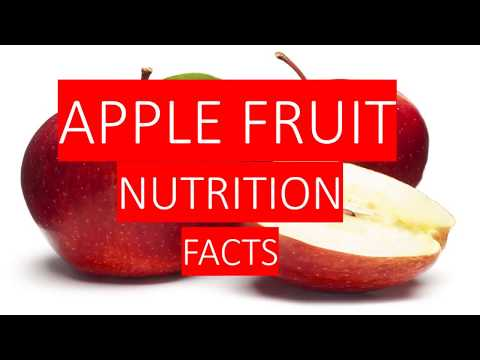 APPLE FRUIT NUTRITION FACTS  AND HEALTH BENEFITS