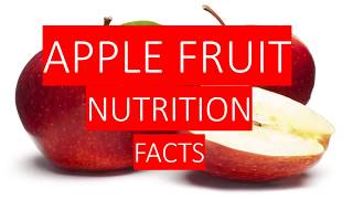 Gambar cover APPLE FRUIT NUTRITION FACTS  AND HEALTH BENEFITS