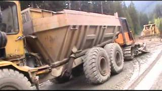 B.C.Logging Road Construction  pt 2