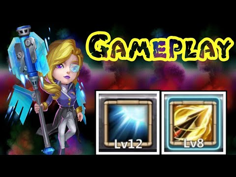 Athene | Zealous Drive | Gameplay | Dungeon/Lybrith/Raid | Max Leveled | Castle Clash