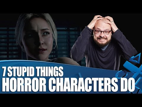 7 Things Characters In Horror Games...