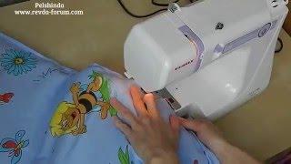 Как сшить детское одеяло за 15 минут ;-)(
