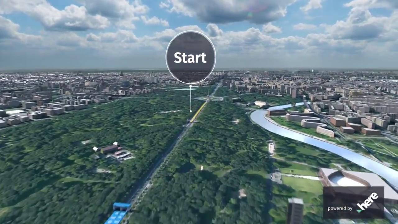 berlin marathon 2018 route