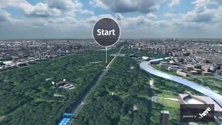 3D Visualization BMW BERLIN-MARATHON