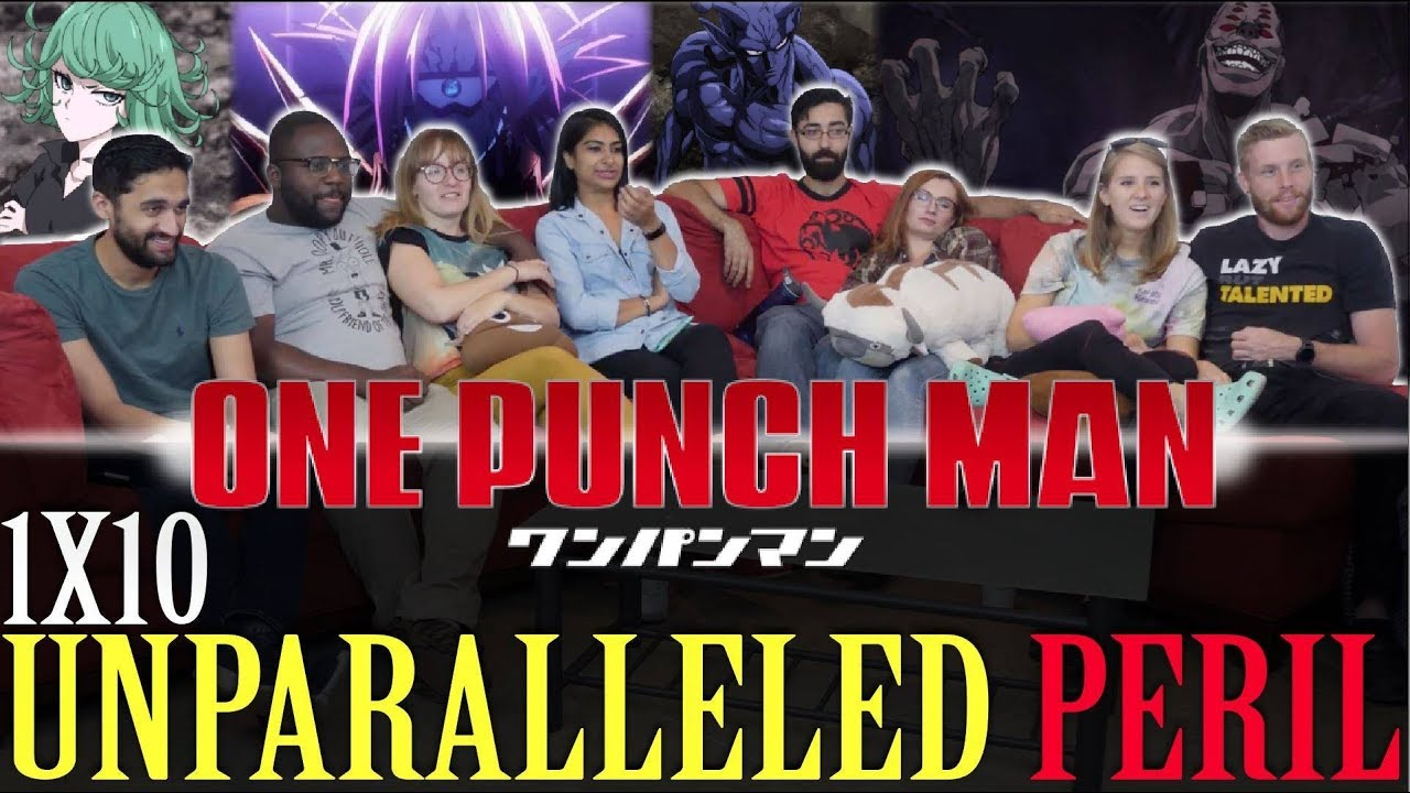 Download One Punch Man - 1x10 Unparalleled Peril - Group Reaction