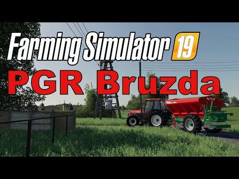 Farming Simulator 19 PGR Bruzda v1.0.0.0 - Халява на старте #Посмотрим