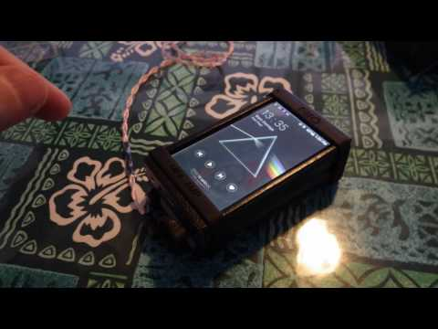 FiiO X5iii and FiiO A5 amp stack (demo, OCD ramble) rec'd