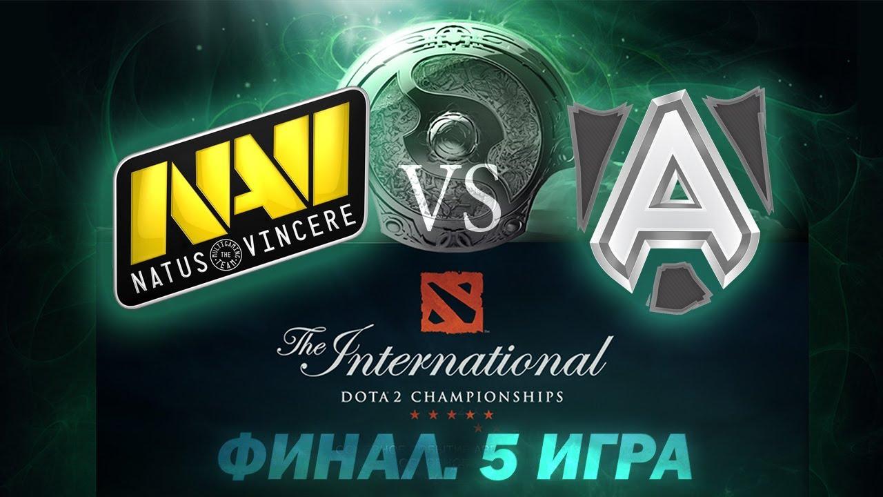 Download Alliance vs Na'Vi - Финальная 5 Игра (The International 2013) [Русские Комментарии)