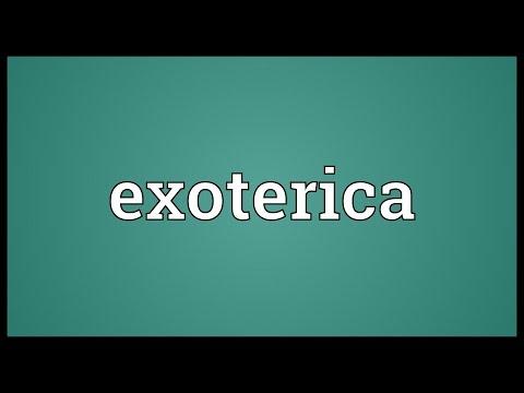Header of exoterica