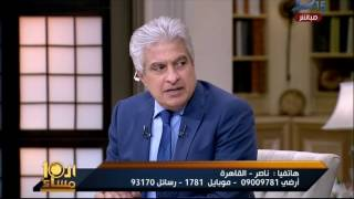شاهد..الإبراشي لمواطن : انت ممنوع منعا باتا من التموين