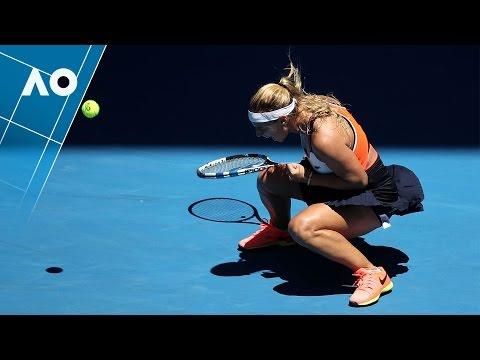 Cibulkova v Hsieh match highlights (2R) | Australian Open 2017