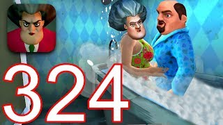 Gambar cover Scary Teacher 3D - Gameplay Walkthrough Part 324 - New Update New Booster (iOS/Android)