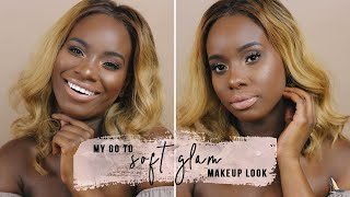 MY GO TO SOFT GLAM MAKEUP LOOK | AÏCHATOU BELLA screenshot 5