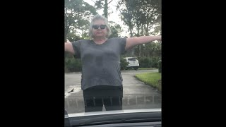 Racist ?? Lady in Vero Beach, Fl demands ID from black resident and blocks vehicle from leaving!