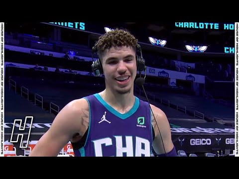 LaMelo Ball Postgame Interview After His 1st Career Triple-Double vs Hawks | January 9, 2021