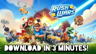 КАК ДА СИ ИЗТЕГЛИМ НОВАТА ИГРА НА Supercell - Rush Wars - TUTORIAL