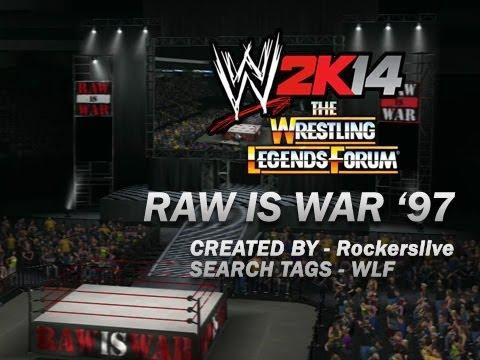 wwe 2k14 wlf creations - raw is war 1997 formula - youtube