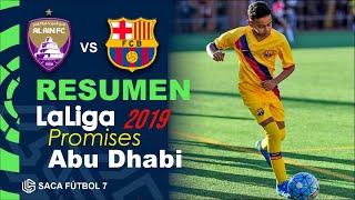 Resumen Al Ain vs Barcelona LaLiga Promises Abu Dhabi 2019