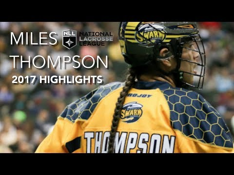 Miles Thompson 2017 NLL Highlights