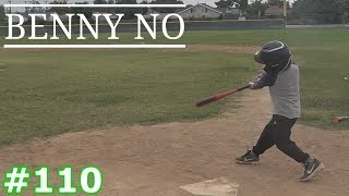 LUMPYS FIRST BATTING PRACTICE AFTER TAKING HITTING LESSONS | BENNY NO | VLOG #110