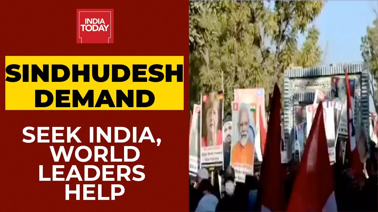 PM Narendra Modi's Posters Raised At Pro-Freedom Rally In Pakistan, Demands 'Sindhudesh