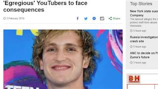 Logan Paul Casey Neistat is WORST than U think! RAPE, threats unchecked with Ads