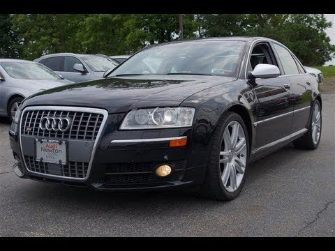 2007 Audi S8 5.2 V10 Quattro Sedan Transporter - YouTube