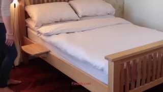 1444 Bamboo Bed Hanging Shelf