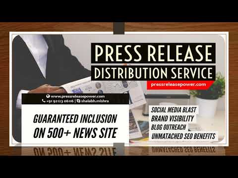 Press Release Distribution Service USA