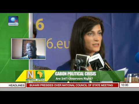 Network Africa: EU Observers Reveal Ánomalies' Over Gabon Election