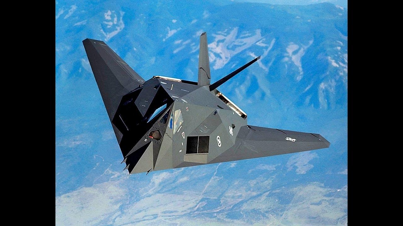 F 117 Nighthawk At Night Stealth Warfare...